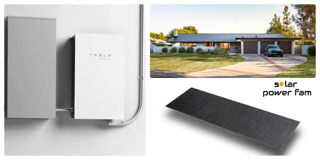 solar roofing and powerwall